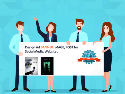 Design Ad BANNER / IMAGE/ POST for Social Media, Website