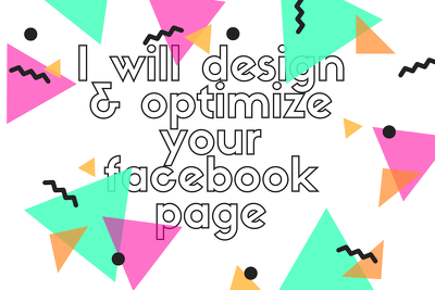 Design and optimize facebook page