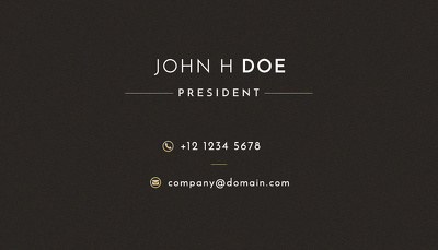 Design for your business card