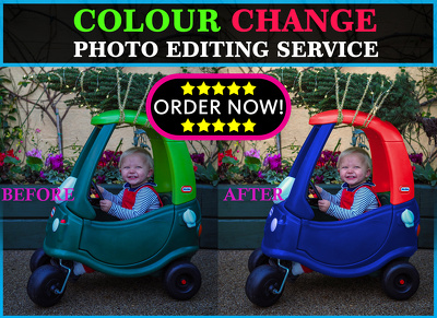 Change colour of anything in any photo of 8 photos