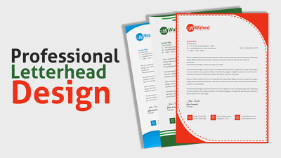 Do Professional Letterhead Design