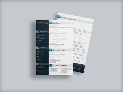 Design an eye-catching and unique CV