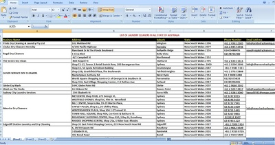 Research expert data entry work: 100-and up entries
