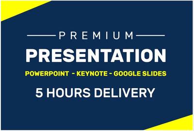 Design PowerPoint Presentation Or Keynote Or Google Slides