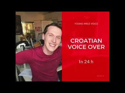 Record Croatian male voiceover