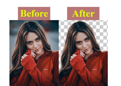 Can remove background from your photo professionally and quickly