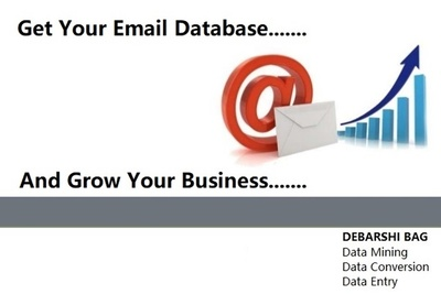 Extract Email Database From Professional & Social Networks