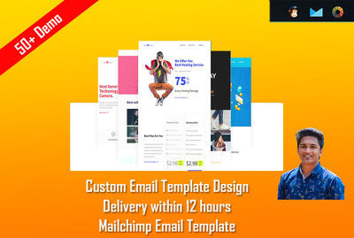 Design Modern Elegant Email Template Within 4 Hours