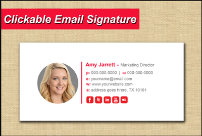 Professionally design HTML email signature in just 3 hours