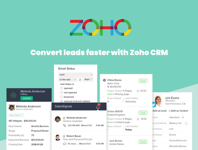 Zoho CRM Setup & Customisation