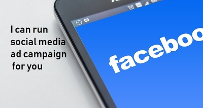 Run social media ad campaign for you