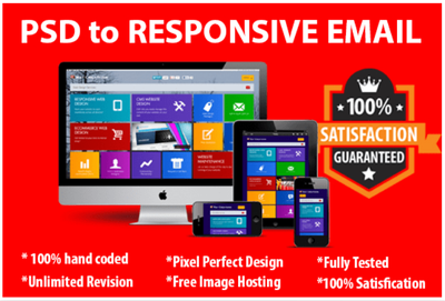 Code PSD to Responsive Email Template