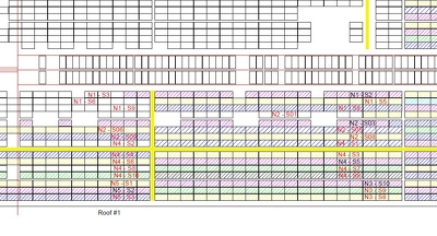 Do Panel Layouts For Solar Pv Projects Using Autocad up to 500kW