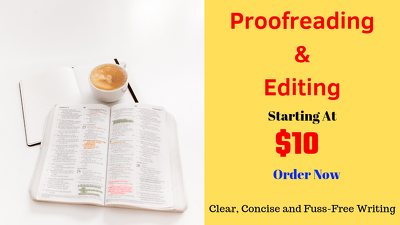Proof Read and  Edit Documents for You that You will Love