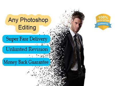 Do any Photoshop Editing  on 5 images