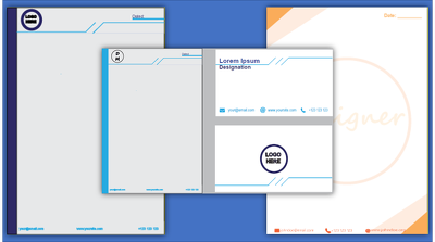 Design Business Card, Letterhead and Stationery Items - Basic