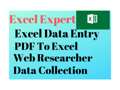 Do data entry in word and excel