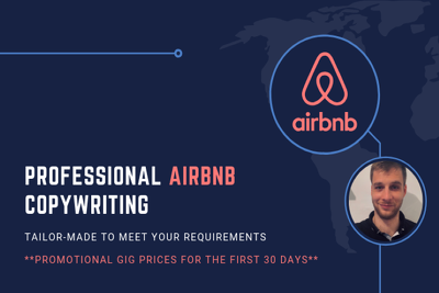 Create A Professionally Written And Edited Airbnb Listing