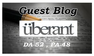 Publish a guest post on HQ Site Uberan. com DA52