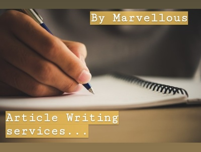Write articles and blog posts
