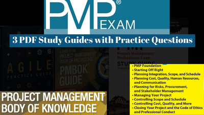 Provide you 3 pmp guide PDF for pmp exam prep