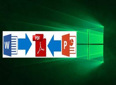 Convert Your Ms Word Or PowerPoint File Into PDF