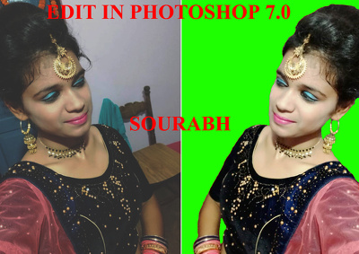 Do photoshop editing for you in 24 hour