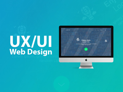 Create UX/UI Design For Web And Mobile App