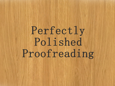 Perfect Proofreading (with edits) 700-1100 words