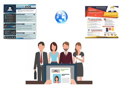 Make The Best Professional CV Web Design, To Be Hire Worldwide