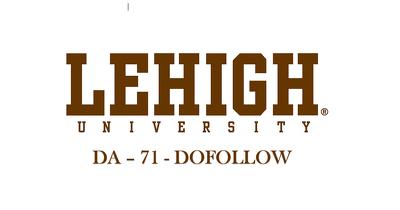 Do High Quality Guest Post on Lehigh.edu DA 71  Indexed