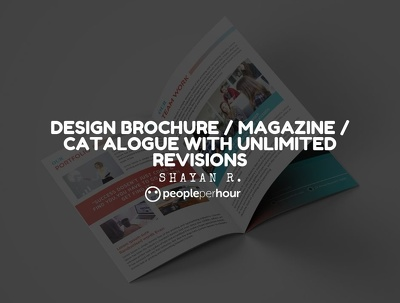 Design brochure / magazine / catalogue with unlimited revisions
