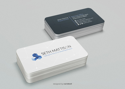 Design professional business card.