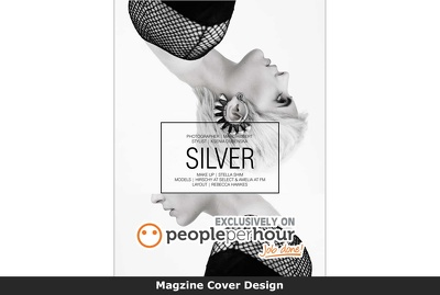 Magazine cover design professional eye catchy