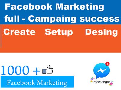 A Facebook Business Create and Setup all Design
