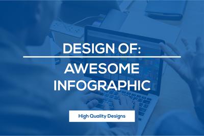 Design unique and impressive infographic