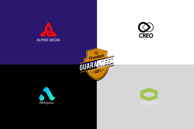 Design premium logo + unlimited revisions + design source file