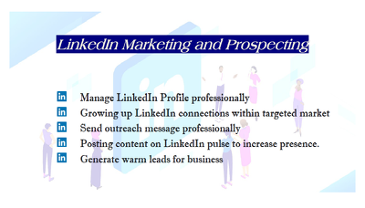 Increase  your LinkedIn connections within targeted market