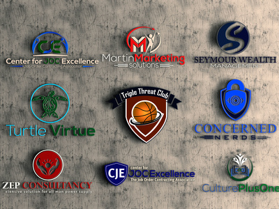 Design 3d logo modern and eye catching logo for your business,