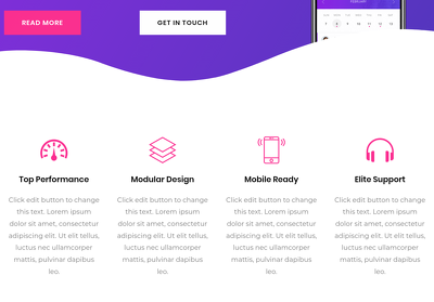 DEsign a 4 Page Mobile Friendly Website