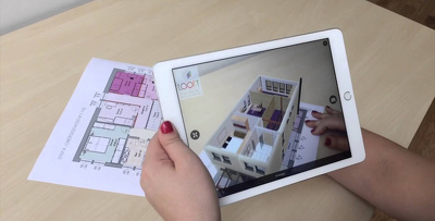 Real Estate Augmented/360Virtual Reality App
