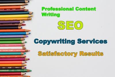 Write Killer Website SEO Content