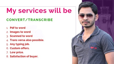 Transcribe audio or video 1 hour
