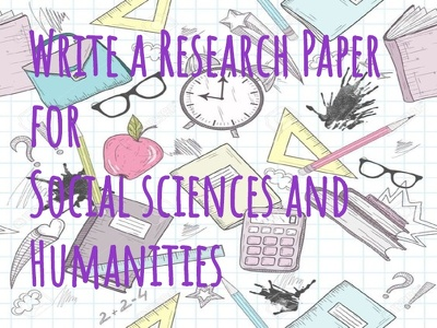 Write you a Research Paper