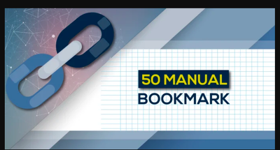 Manually 50 Bookmark Submission Backlinks, High Pa Da Cf Tf