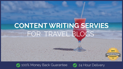 Content Writing for Travel Blogs