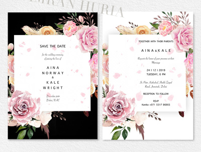 Design full Invitation Package for you