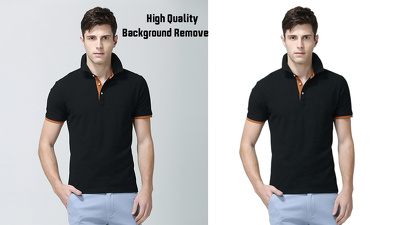 Remove the background for 30 images with high quality
