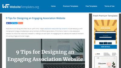 Write & Publish Guest Post On Websitetemplates.org - DA 55 -