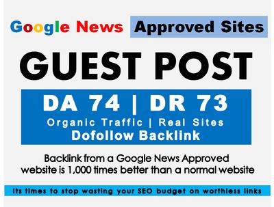 Write & Post On DA 74 Google News Approved Thetab.com